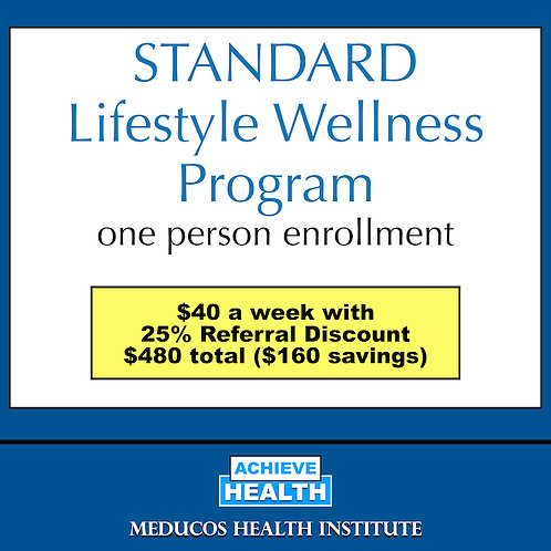 STANDARD Lifestyle Wellness Program - One Person