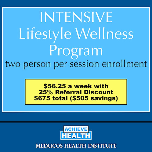 INTENSIVE Lifestyle Wellness Program - Two People