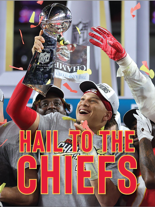Kansas City Chiefs Super Bowl Commemorative Magazine