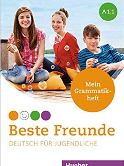 Beste Freunde Deutsch für Jugendliche, Mein Grammatikheft - 9783193910516