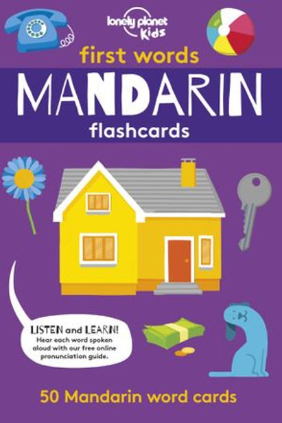 Flashcards First Words in Mandarin - 9781788686259