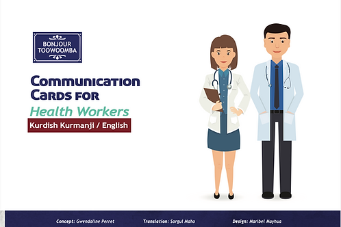 Communication Cards for Health Workers