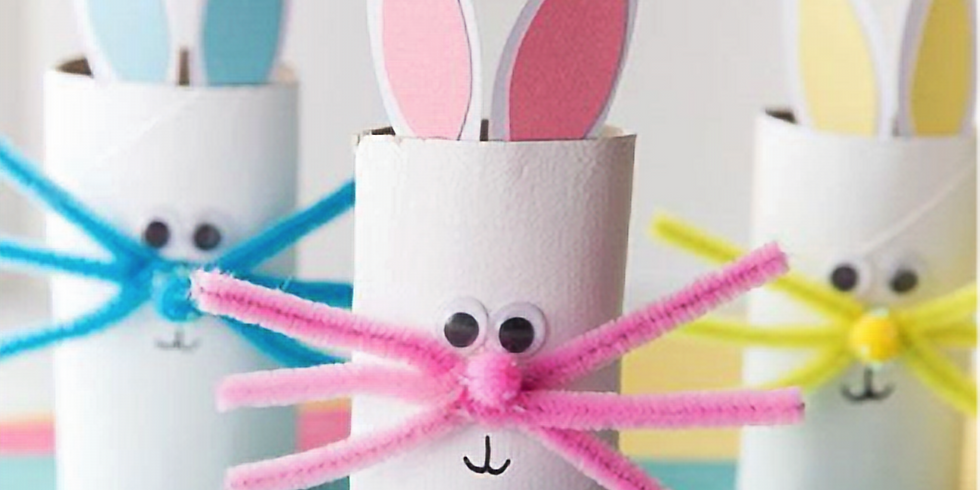 ONLINE Easter Crafts - In French - Craft 1