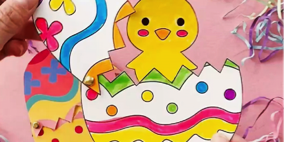 ONLINE Easter Crafts - In French - Craft 2