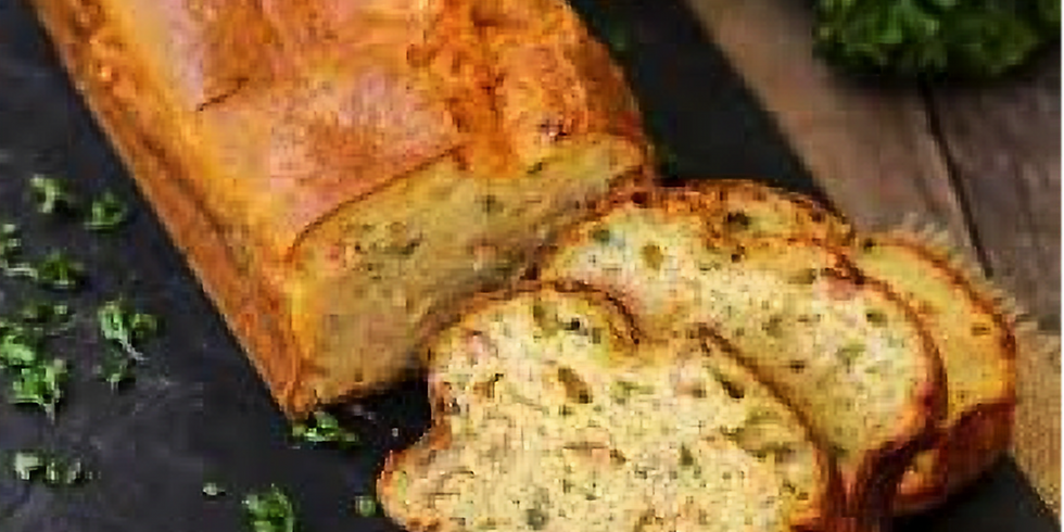 Cooking workshop - French & English - Savoury slice