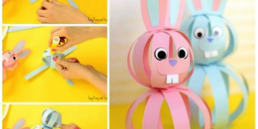 ONLINE Easter Crafts - In French - Craft 4