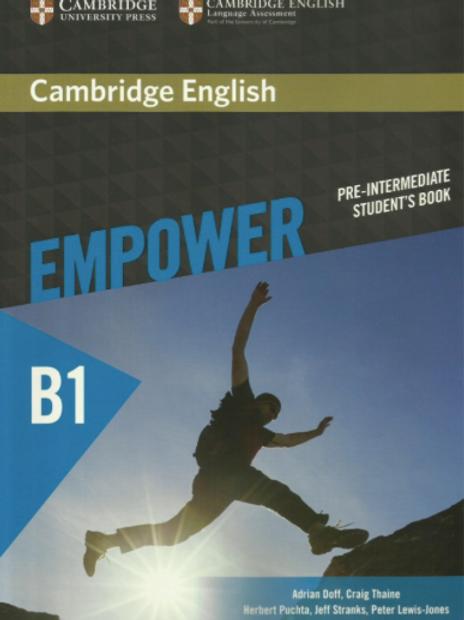 Empower B1 Pre-intermediate Textbook