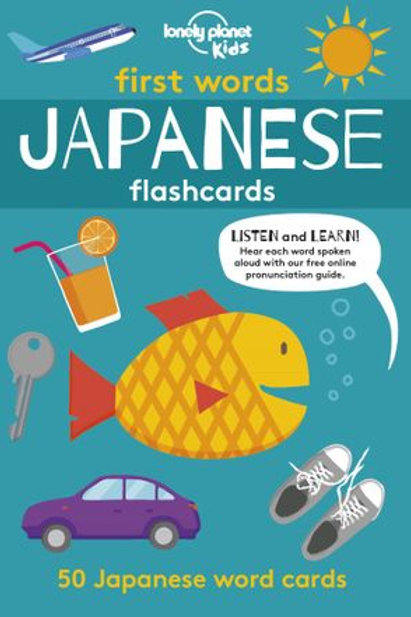 First Words - Japanese Flashcards - 9781788686266