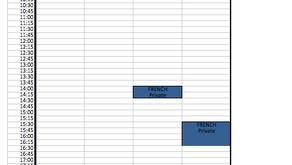 TERM 4 - Toowoomba schedule