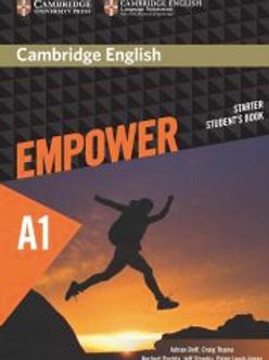Empower A1 Starter Student's Book