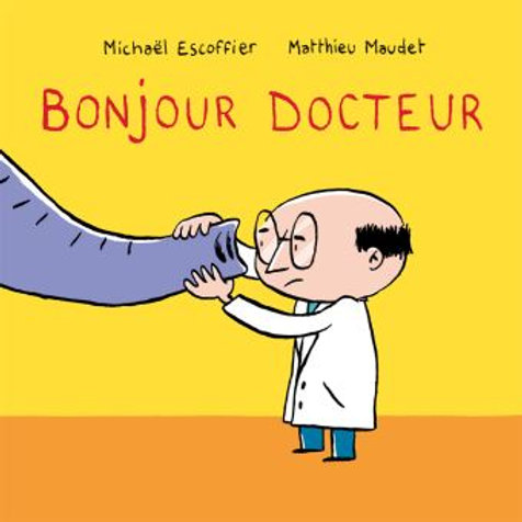 Bonjour docteur French - 9782211208826