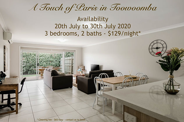 A Touch of Paris Toowoomba July 2020 Sho