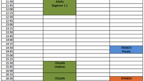 Term 3 - Toowoomba Classes