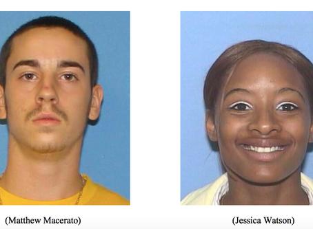 Day 3: The Murders of Matt Macerato & Jessica Watson