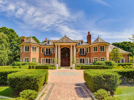 Mansion in the Suburbs of NY