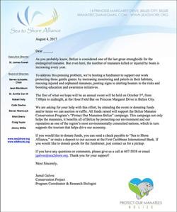 Fundraiser announcement