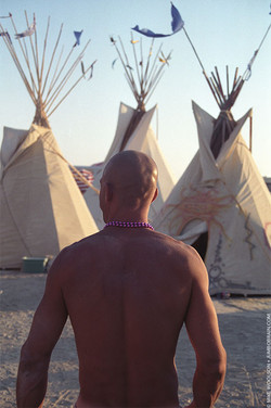 Anton and Teepees