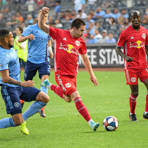 Heber, Moralez Paint New York Blue With Win Over Rival Red Bulls