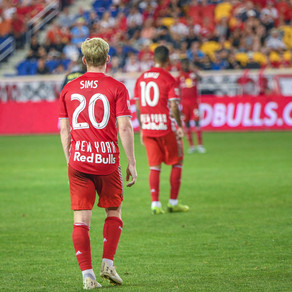 The New York Red Bulls have brought back Josh Sims, who was on loan from Southampton FC, until June.