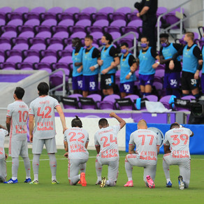 Orlando City Fly By In Form Red Bulls