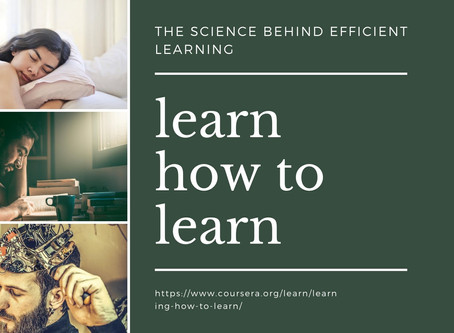 Learning How To Learn: The Science Behind Efficient Learning