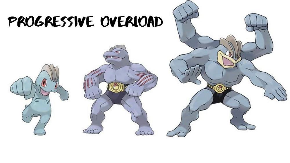 pokemon machop machamp machoke progressive overload