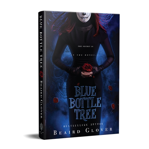 Blue Bottle Tree by Beaird Glover