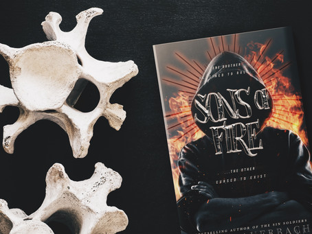 COVER REVEAL: Sons Of Fire by Tracy Auerbach