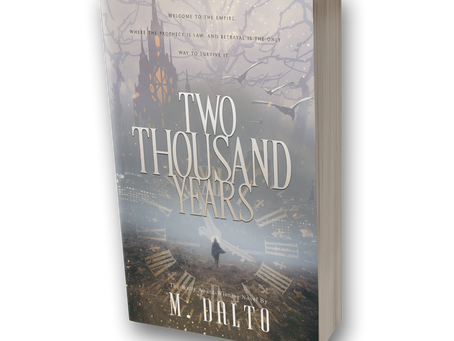 Two Thousand Years Official Book Trailer & Sneak Peek