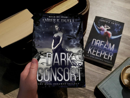 COVER REVEAL: Dark Consort by Amber R. Duell