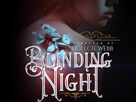 COVER REVEAL & AUDIO BOOK ANNOUNCEMENT! Blinding Night by Chantal Gadoury