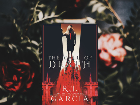 COVER REVEAL: The Call of Death by RJ Garcia!