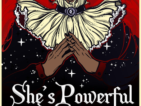 Cover Reveal: She's Powerful Trouble, by Taylor Hartley