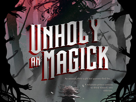 COVER REVEAL: An Unholy Magick By Kali Rose Schmidt