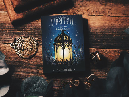 COVER REVEAL: Starlight by P.S. Malcolm!