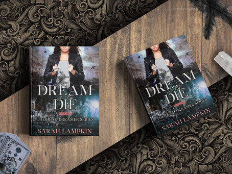 COVER REVEAL: To Dream Is To Die by Sarah Lampkin