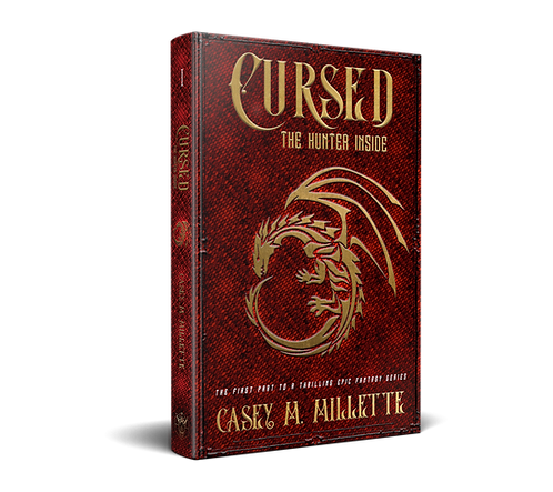 Cursed: The Hunter Inside by Casey M. Millette