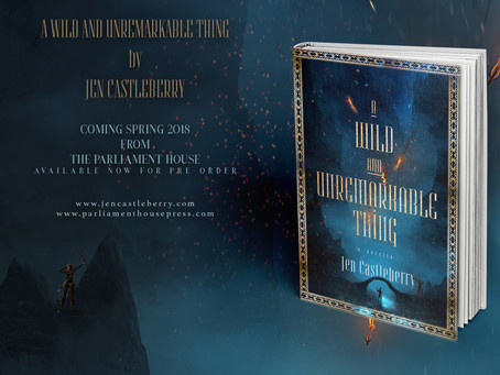 Cover Reveal: A Wild & Unremarkable Thing