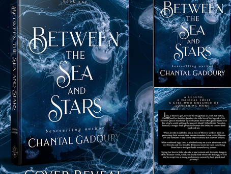 Cover Reveal! Between the Sea & Stars...and soon the other books on your shelf...