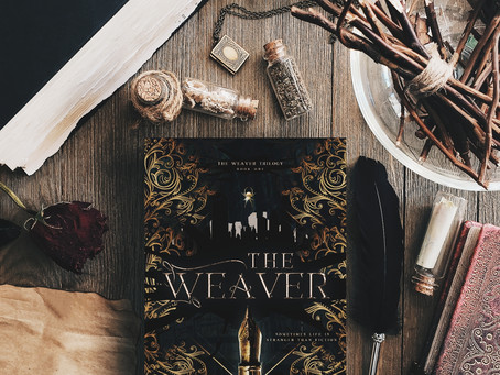 COVER REVEAL: The Weaver by Heather Kindt