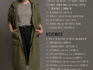|| Music News || New single, Autumn touring and EP matters...