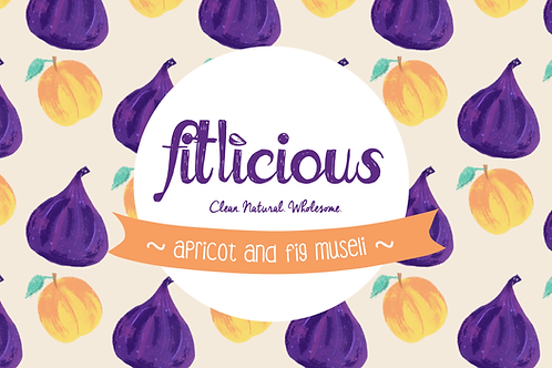 Apricot & Fig Muesli 450gms