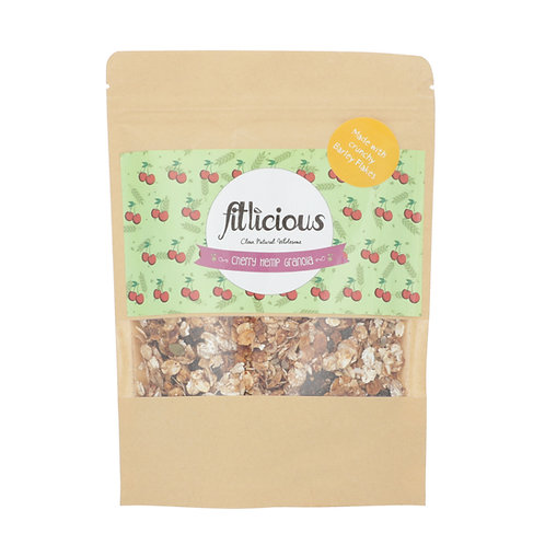 Cherry Hemp Granola 200gms