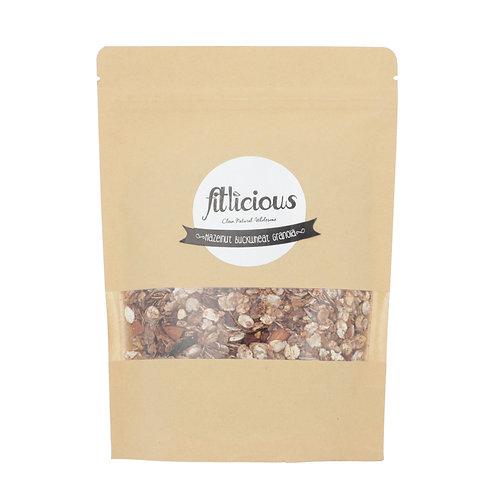 Hazelnut and Buckwheat Granola 450gm