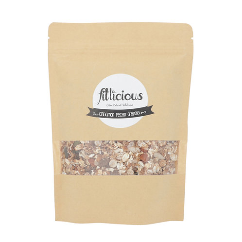 Cinnamon Pecan Granola 450gms