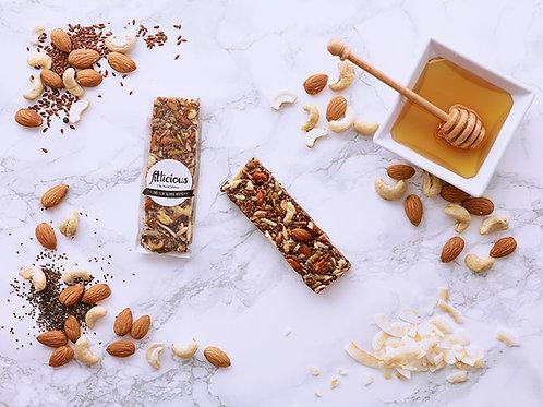 Chia - Flax Almond Brittle
