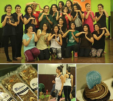 people enjoying fitness and Fitlicious products