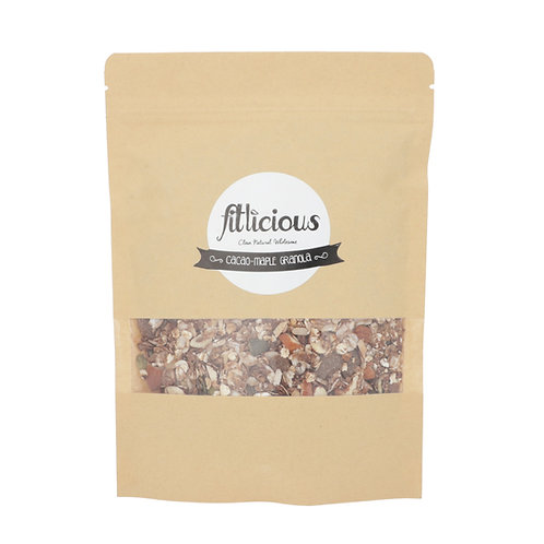 Cacao Maple Granola 200gms