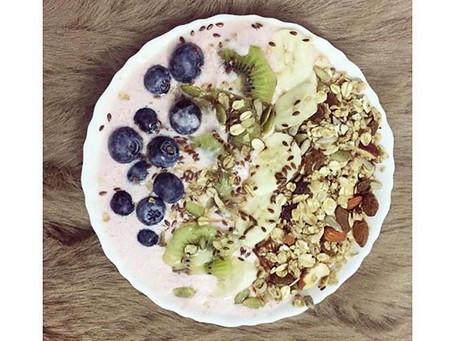 Aniqah's Smoothie bowl