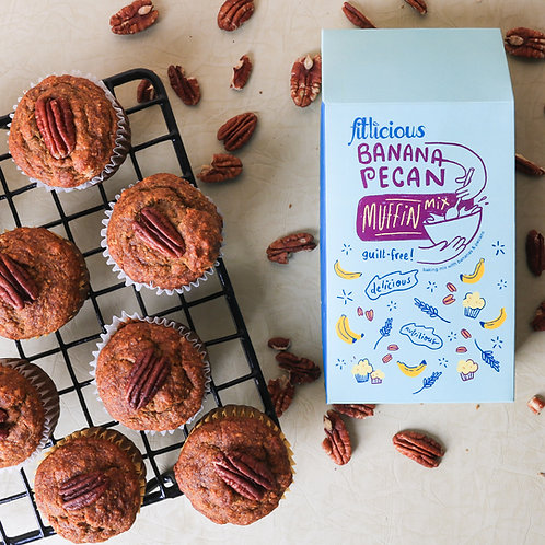 Banana Pecan Muffin mix 270gms